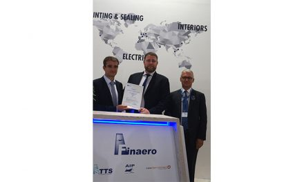 Finaero obtains its EASA Part 21J for its interiors division, AIP.