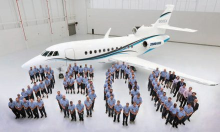 Dassault delivers 2,500th Falcon