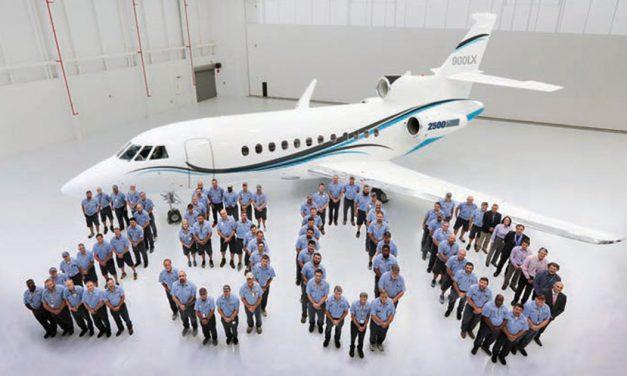 Dassault delivers 2,500th Falcon