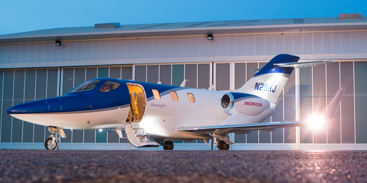 FlyHondaJet:  The European key of the Honda Aircraft Company.