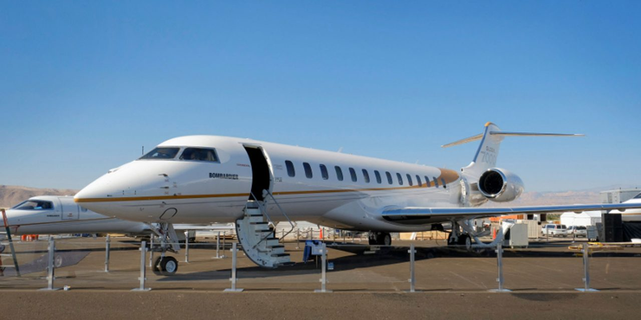 Bombardier unveils the largest purpose-built business jet in the Iindustry at NBAA BACE 2017