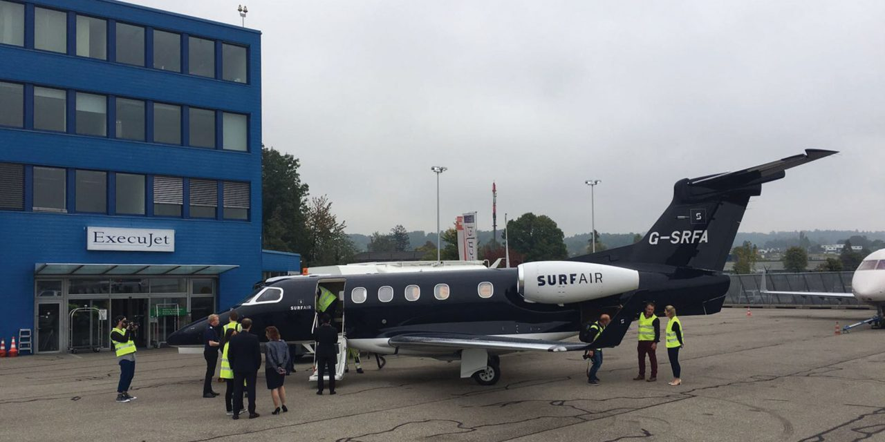 ExecuJet becomes sole handling agent in Zürich for Surf Air