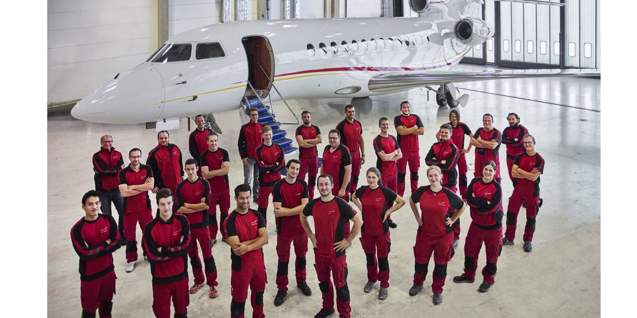 Three C inspections on Falcon 7Xs for Aero-Dienst