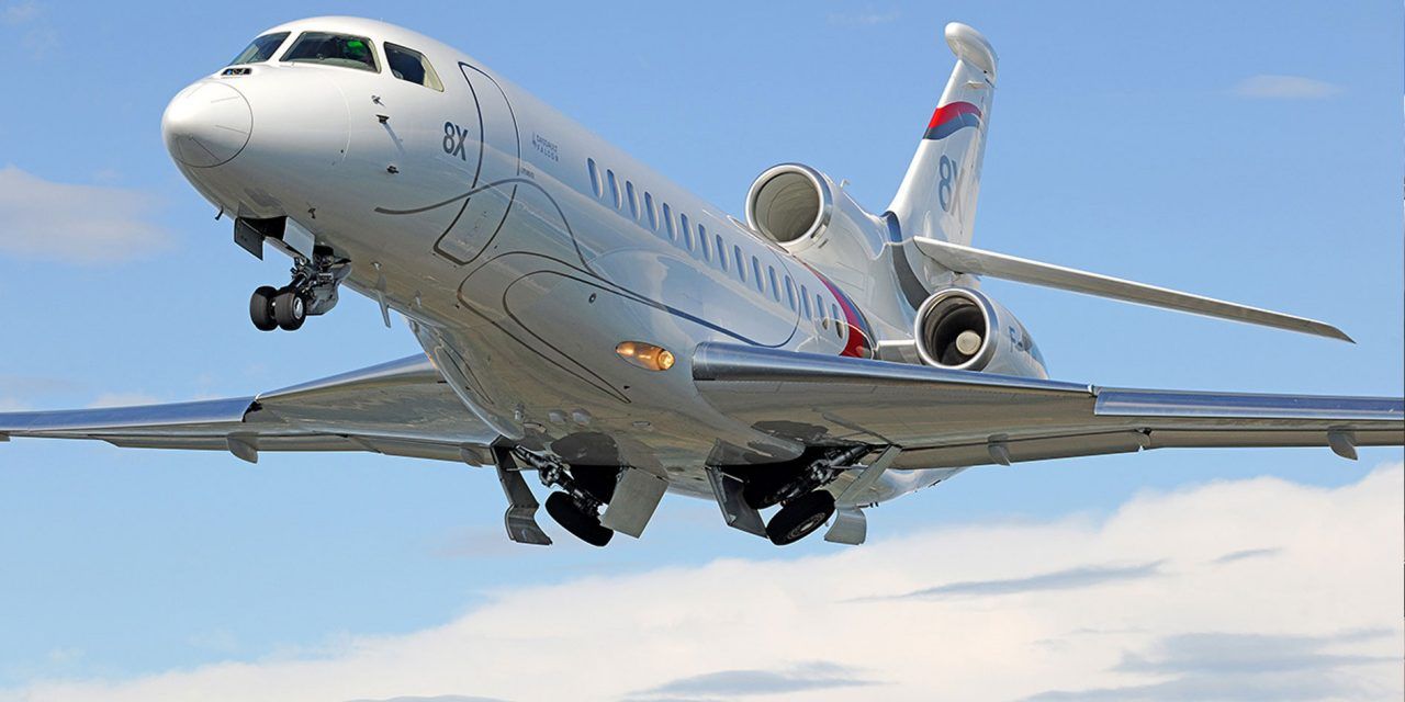 Global expansion continues for Falcon 8X