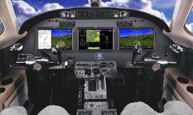Garmin approaches first flight of the G5000 integrated flight deck in the Citation Excel/XLS