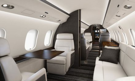 Bombardier introduces its show-stopping Premier Cabin for Global 5000 and Global 6000 aircraft to the U.S. market at NBAA BACE