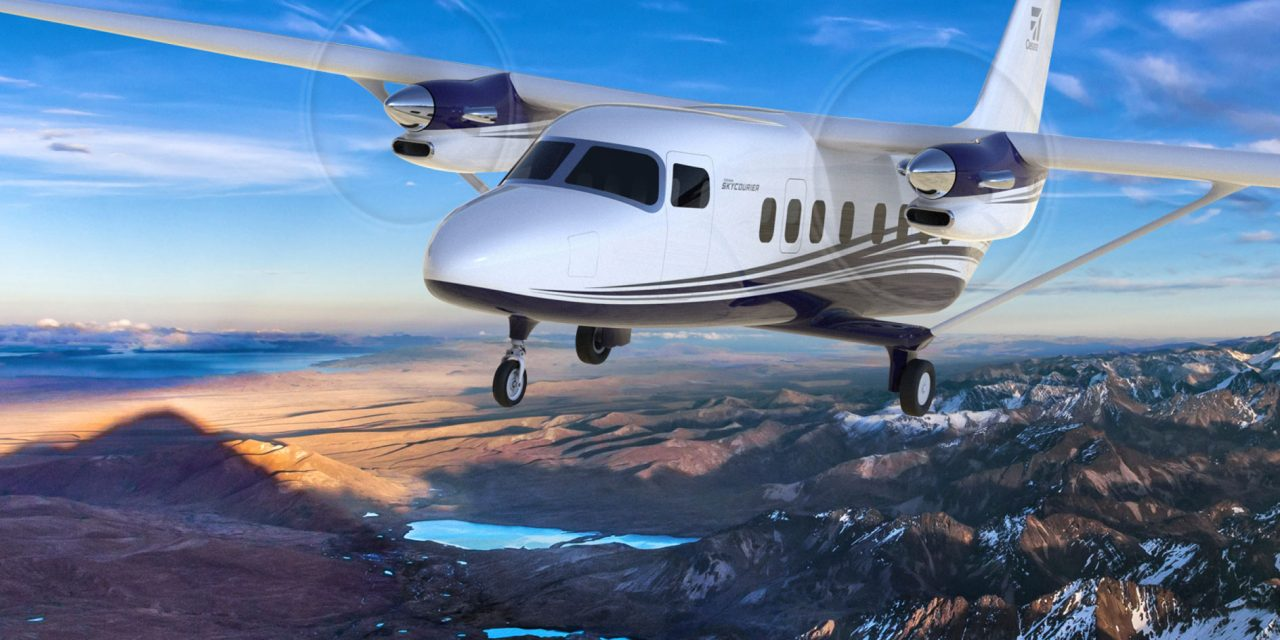 Textron Aviation unveils new large-utility turboprop, the Cessna SkyCourier