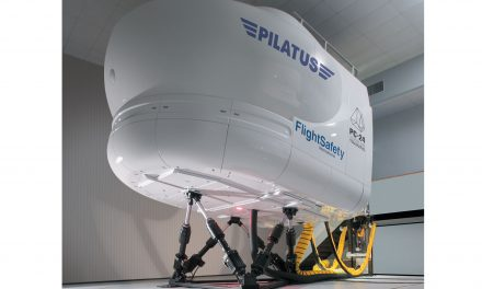 The first Pilatus PC-24 full flight simulator qualified by the Federal Aviation Administration