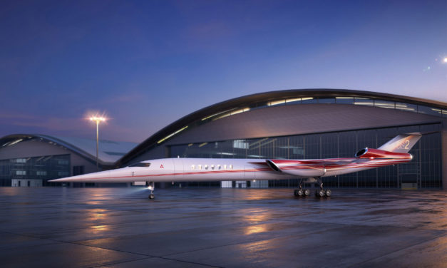 Aerion and Lockheed Martin join forces to develop world's first supersonic business jet