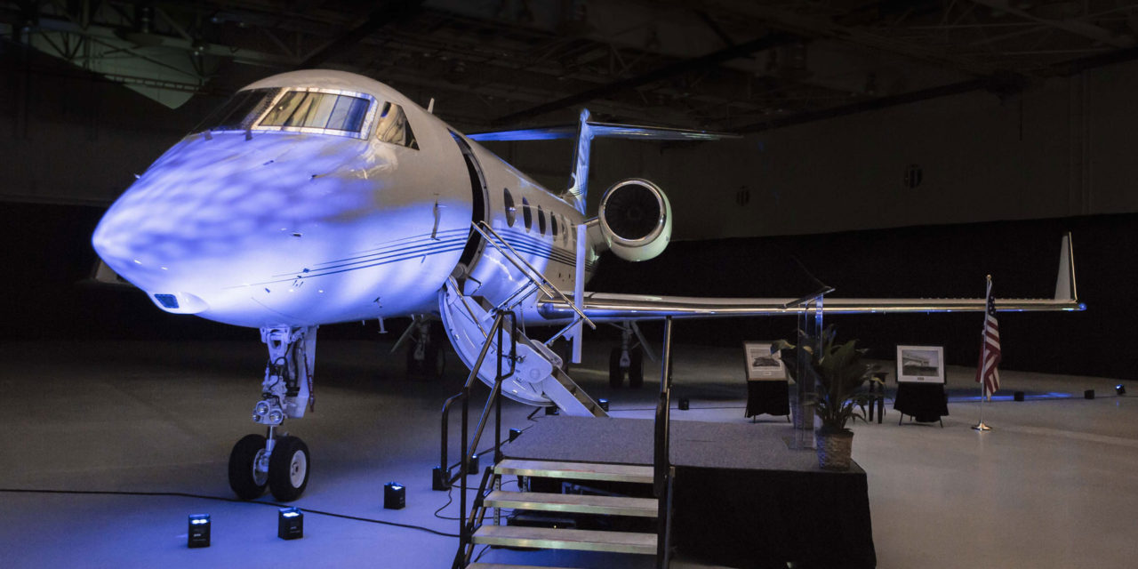 Gulfstream delivers final G450.