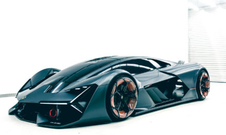Lamborghini Terzo Millenio: a vision of the future.