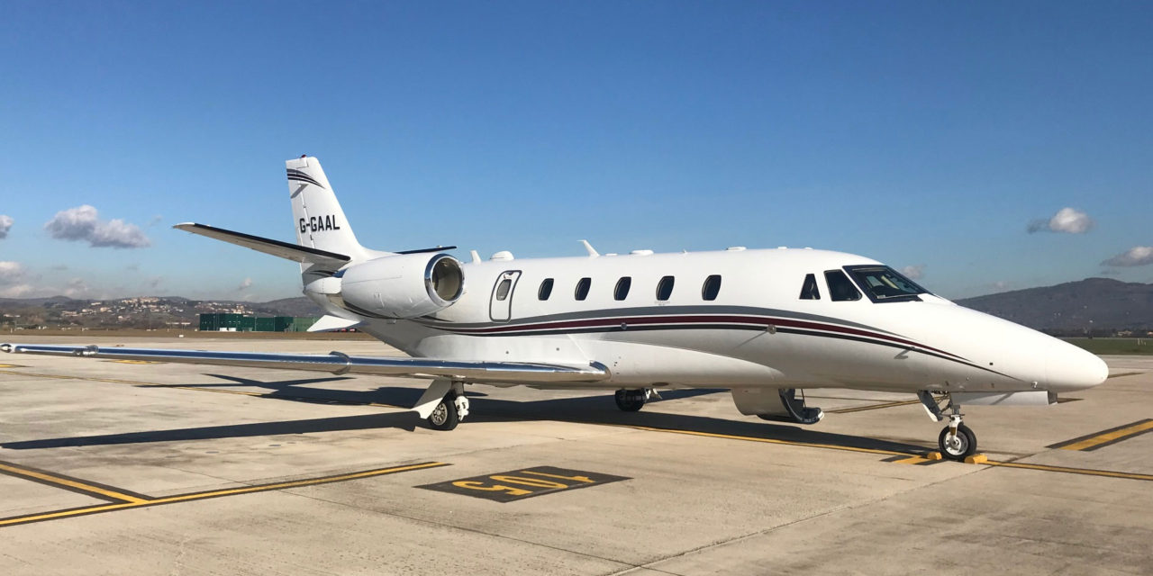 Luxaviation UK welcomes a Cessna Citation XLS+ into its fleet