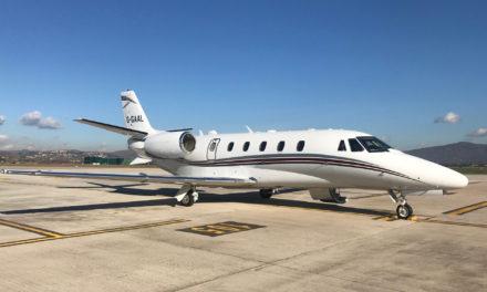 Luxaviation UK welcomes a Cessna Citation XLS+ into its fleet