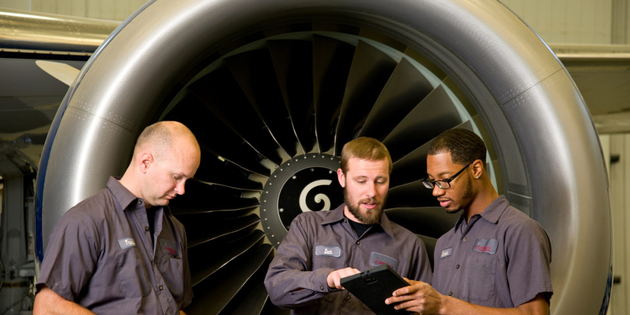 Comlux performs its first digital maintenance on Hyundai Motor Company BBJ
