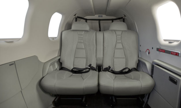 Daher's Model Year 2018 TBMs introduce heated seats for enhanced comfort, marking a first in single-engine turboprop aircraft