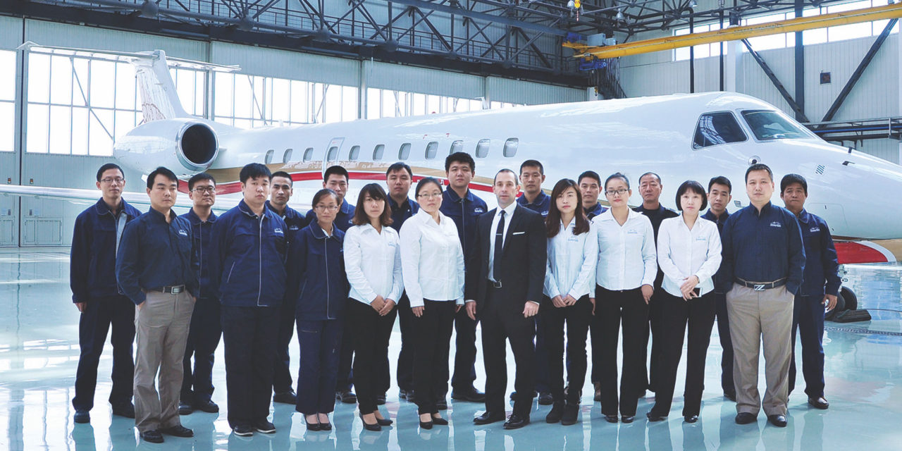 ExecuJet appointed as Dassault authorized service center in China