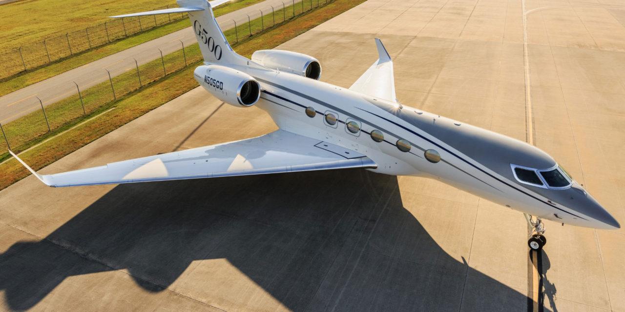 Gulfstream G500 entering final series of certification testing