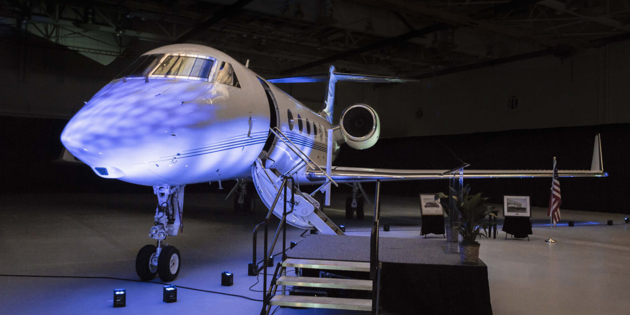 Gulfstream delivers its last G450