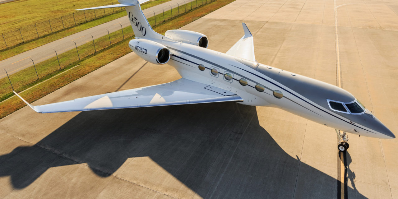 The Gulfstream G500 enters the final phase of certification testing