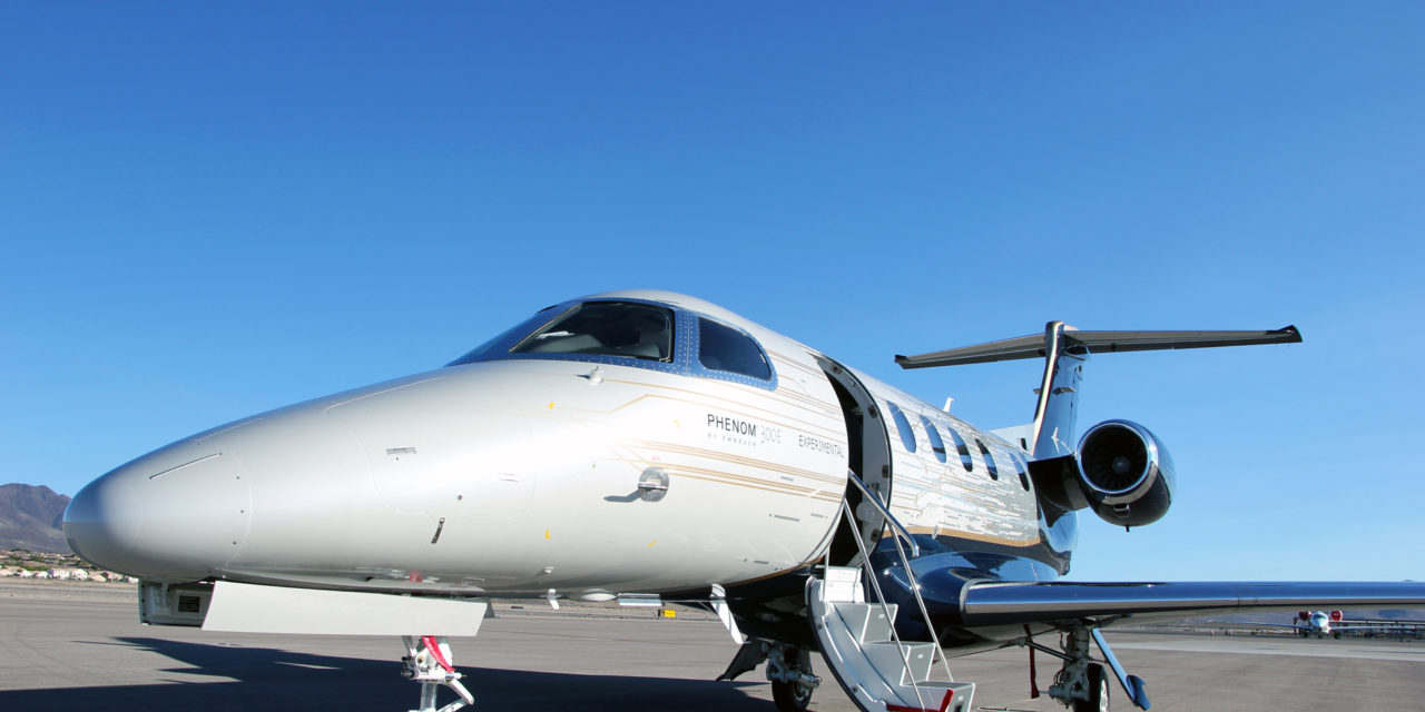 Embraer certifies and delivers first Phenom 300E