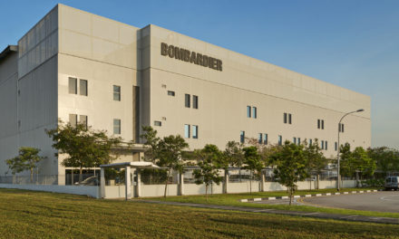 Bombardier's Singapore service centre completes its first Ka-band Installation on in-service Global 6000 aircraft