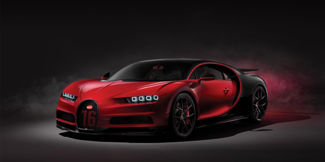 Bugatti unveils the Chiron Sport