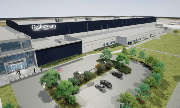 Gulfstream expands its facilities in Savannah