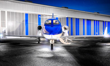 The first Central European HondaJet available for charter in Warsaw