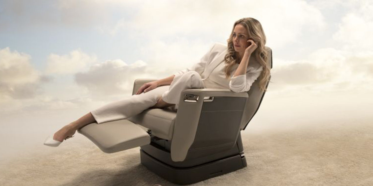 Bombardier presents the Nuage seat
