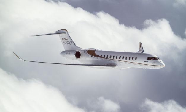 Longer flight time for the Global 7000