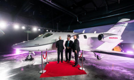 Central Europe's first HondaJet available for private charter lands in Warsaw