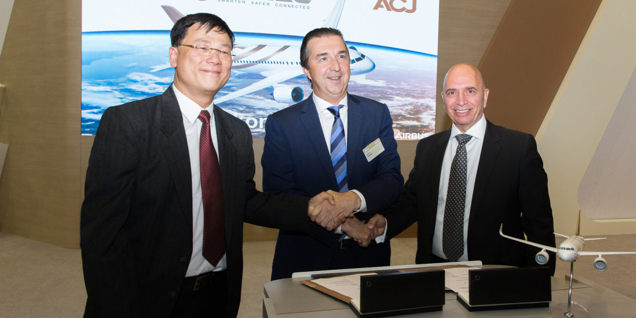 Aircom Pacific Inc. partners with Airbus ACJ to develop an innovative Ka-Band solution
