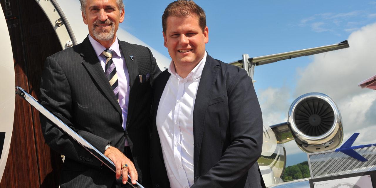 Embraer Sells 4 more Legacy 650E to Air Hamburg
