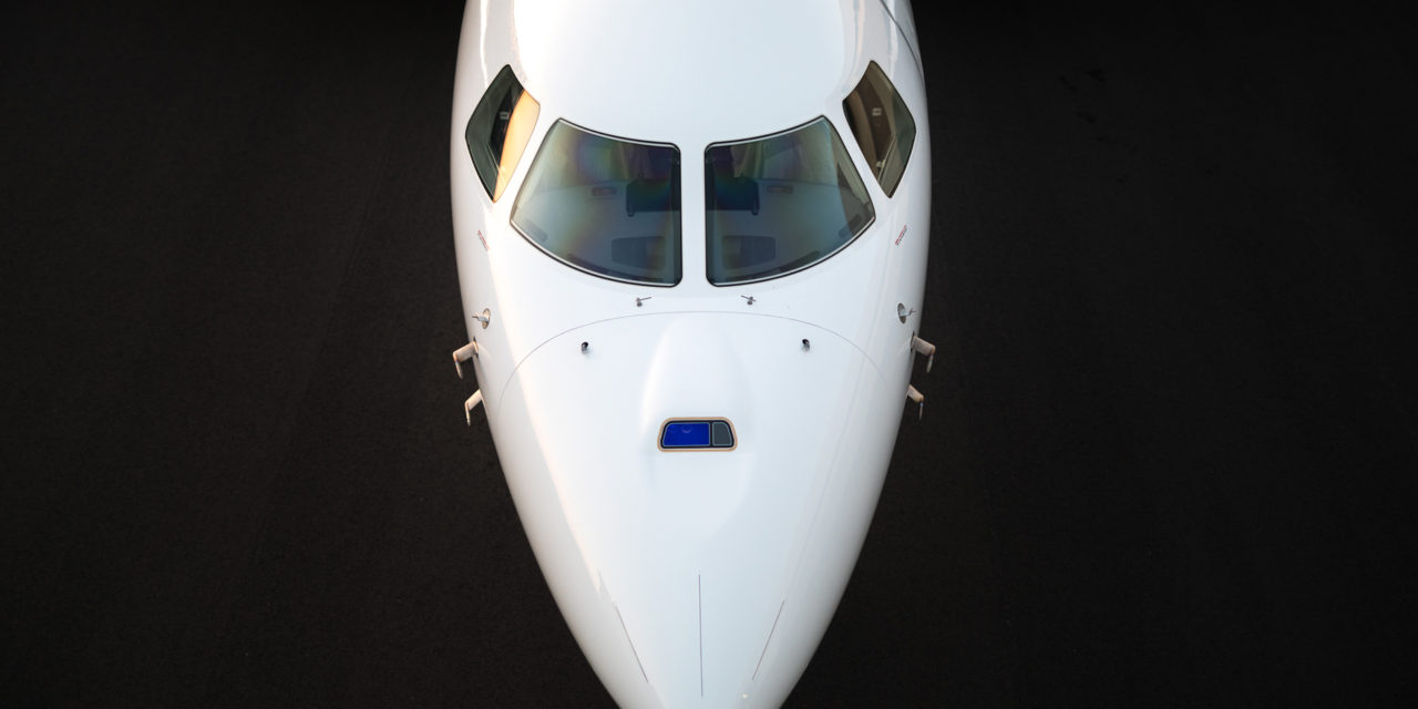 Falcon 8X with FalconEye Combined Vision System to receive certification for 100 Ft minimum decision height