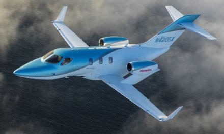 Honda Aircraft Company unveils the Hondajet Elite