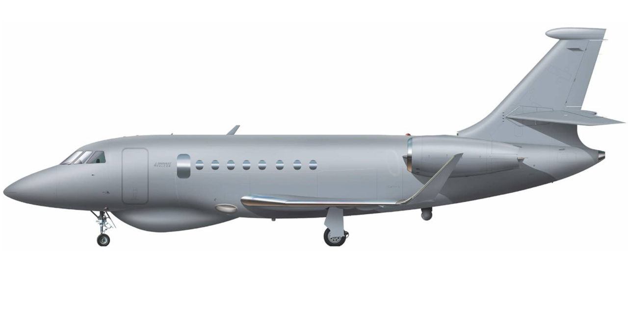 Japan Coast Guard acquires fifth Falcon 2000 MSA