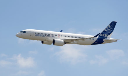 Airbus introduces the A220-100 and A220-300
