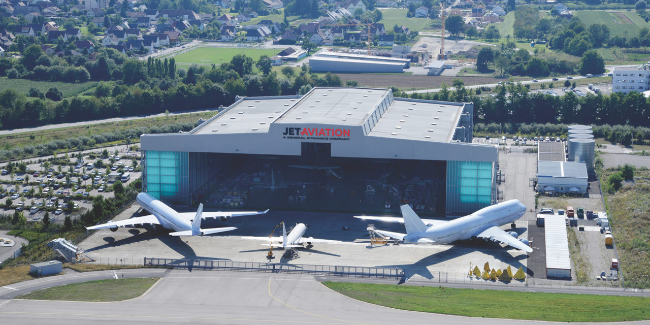 Jet Aviation signs a fit-out contract for the Boeing 787