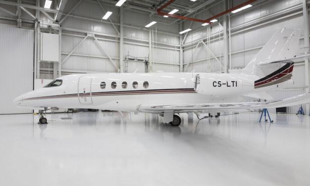 Textron Aviation Delivers the Ninth Citation Latitude to NetJets