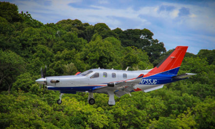 Daher presents the TBM 900 in India