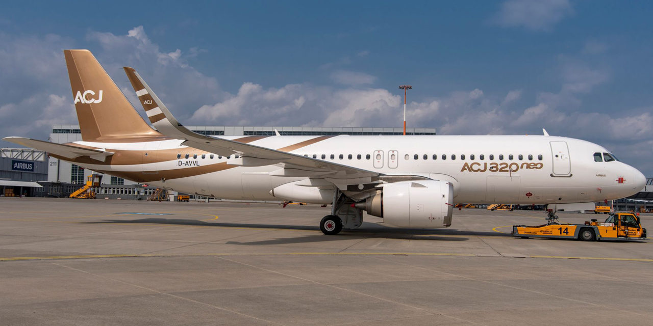 The first ACJ320neo has come off the production line