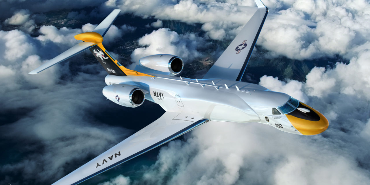 A G550 for the US Navy