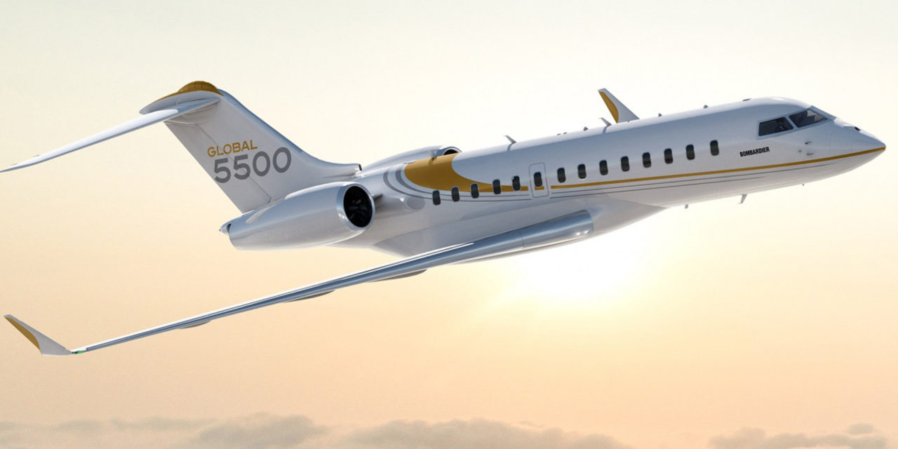 Bombardier Global 5500 and Global 6500 Business Jet Program on Schedule for Delivery in 2019, with Flight Testing 70% Complete