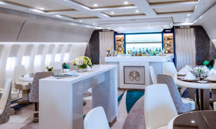 Comlux celebrates 1st year of successful operation and charter of Crystal AirCruises B777-200LR VIP