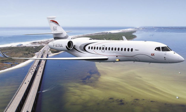 Dassault Falcon 6X Development Accelerates Into Detail Design Phase
