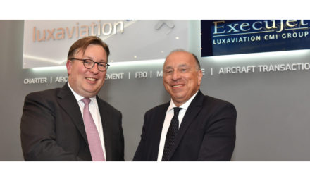 Luxaviation celebrates partnership with Colombo on the occasion of its new office opening in Lugano