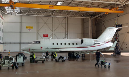 Nomad Technics completes first 6 & 12 month maintenance on a Challenger 604