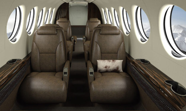 Textron Aviation and King Ranch, Iconic Brands Launch a Special Edition King Air 350i