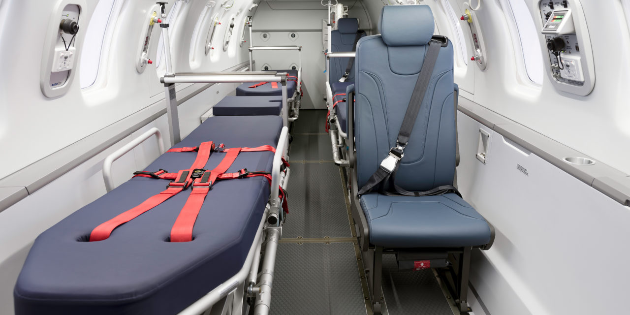 Pilatus hands over first PC-24 Air Ambulance