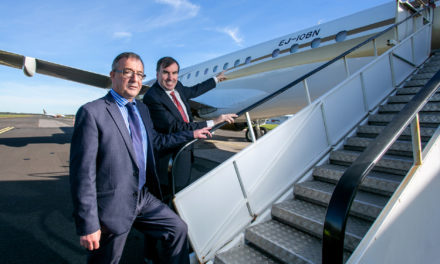 Gainjet Ireland takes delivery of the world's first EJ registered aircraft